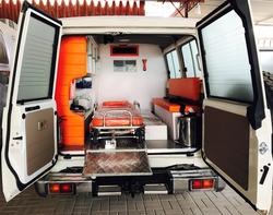 Brand New Toyota Land Cruiser VDJ&78 Ambulance from DAZZLE UAE