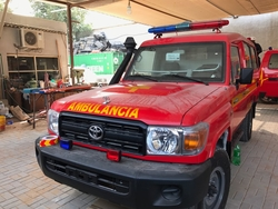 Brand New Toyota Land Cruiser GRJ&78 Ambulance from DAZZLE UAE