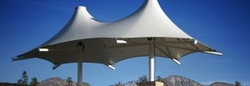 TENSILE STRUCTURE TENTS SERVICE PROVIDERS IN ABU DHABI from AL AMEERA TENTS & SHADES