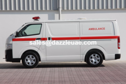 4x4 Ambulance Toyota  from DAZZLE UAE