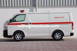 4x4 Ambulance Toyota  from DAZZLE UAE