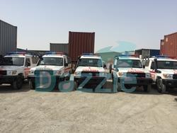 VDJ78 Land Cruiser Ambulance from DAZZLE UAE