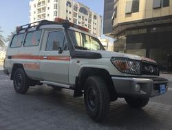 Emergency Ambulance Toyota from DAZZLE UAE