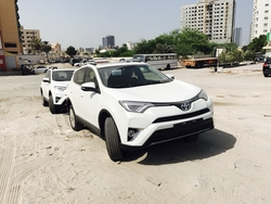 Toyota 4x4 Rav4 from DAZZLE UAE