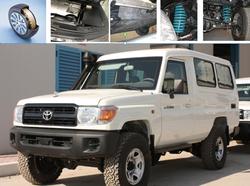 Toyota Land Cruiser 78 Armored  from DAZZLE UAE