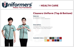 Cleaners Uniforms Suppliers in UAE