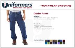 Denim Pants Manufactures in UAE