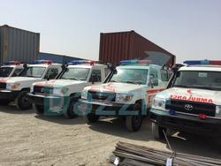 Ambulance Toyota 4x4  from DAZZLE UAE