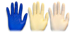 POWDER LESS EXAMINATION GLOVES