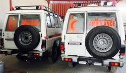 Ambulance Toyota Hardtop from DAZZLE UAE