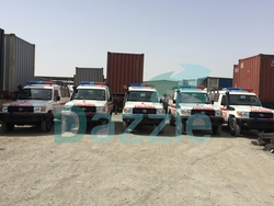 Off Road Ambulance  from DAZZLE UAE