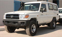 Toyota Land Cruiser Hardtop Armored  from DAZZLE UAE