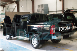 Toyota Hilux Armored  from DAZZLE UAE