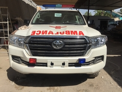 Toyota Land cruiser 200 Ambulance from DAZZLE UAE
