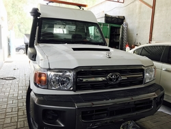 Toyota Land Cruiser Hardtop VDJ78 High Roof Ambulance from DAZZLE UAE