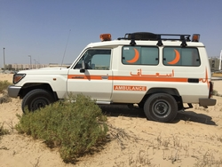 Brand New Toyota Land Cruiser Hard Top Ambulance from DAZZLE UAE