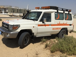 Brand New Toyota Land Cruiser VDJ78 Ambulance  from DAZZLE UAE