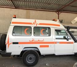 Standard Ambulance Toyota from DAZZLE UAE