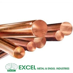 NICKEL & COPPER ALLOY ROUND BARS from EXCEL METAL & ENGG. INDUSTRIES