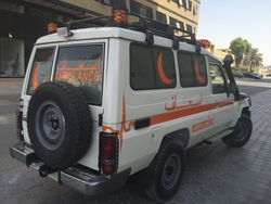 Brand New Toyota Hard Top Ambulance  from DAZZLE UAE