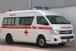 Ambulance Toyota Hiace High Roof from DAZZLE UAE