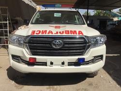 Ambulance Toyota Land Cruiser 200  from DAZZLE UAE