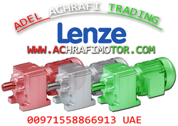 LENZE GEARBOX WITH MOTOR IN SHARJAH - DUBAI . UAE from ADEL ACHRAFI TRADING EST BRANCH