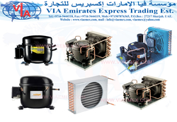 Compressor Units Suppliers In  Sharjah, UAE from VIA EMIRATES EXPRESS TRADING EST