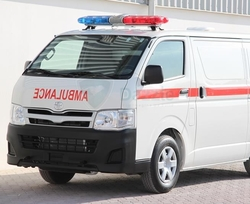 Ambulance Toyota Hiace Standard Roof from DAZZLE UAE
