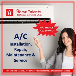 AC Service, AC Repair & Maintenance Residential &Commercial from HOME TALENTS TECHNICAL SERVICES LLC