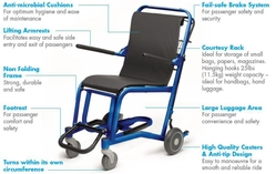 STAXI Commercial Chair w/ Cushion  from ARASCA MEDICAL EQUIPMENT TRADING LLC