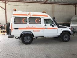 Ambulance Export UAE from DAZZLE UAE