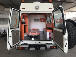 Toyota Ambulance Export  from DAZZLE UAE
