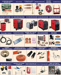 Welding Equipment and consumables   from CHYTHANYA BUILDING MATERIALS TRADING LLC DUBAI