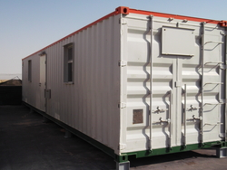 Prefab units from RTS CONSTRUCTION EQUIPMENT RENTAL L.L.C
