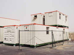 Container Modification from RTS CONSTRUCTION EQUIPMENT RENTAL L.L.C