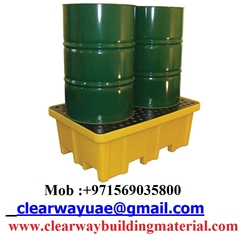 2 Drum Spill Pallet, CLWYBP2FW from CLEAR WAY BUILDING MATERIALS TRADING