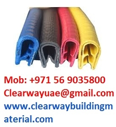 Cable Tray Rubber # Edge Protector # Edge Protector # Door Guard Rubber# Cable Tray Safety Protector Rubber Beading # Cable Tray Safety from CLEAR WAY BUILDING MATERIALS TRADING