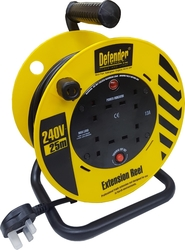 DEFENDER ELECTRIC CABLE REEL 25M 13AM 3PIN from AL MAHROOS TRADING EST