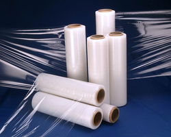 Clear Pallet Stretch Wrap Cling Film. WRAPPING ROLL