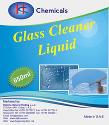 GLASS CLEANER SUPPLLIERS IN UAE from DAITONA GENERAL TRADING (LLC)