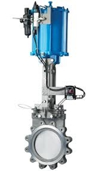 PNEUMATIC KNIFE GATE VALVES  from FRAZER STEEL FZE