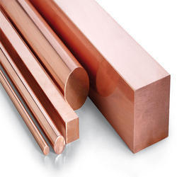 Copper Bars from ASHAPURA STEEL & ALLOYS