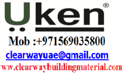 UKEN PRODUCTS DEALER IN MUSAFFAH , ABUDHABI , UAE from CLEAR WAY BUILDING MATERIALS TRADING