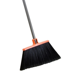 hard broom with long handle