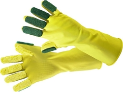 Hand gloves Gentle Touch medium yellow