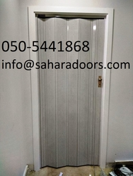ACCORDION DOORS UAE from SAHARA DOORS & METALS LLC