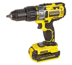 Stanley 18V Hammer Drill (Li-ion) 2 Battery from AL FUTTAIM ACE