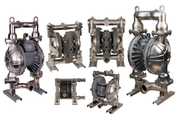 Air operated Diaphragm pumps from TECHNOMAX INDUSTRIAL SERVICES LLC