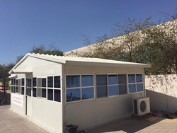 INSULATED OFFICES IN UAE from WHITE METAL CONTRACTING LLC